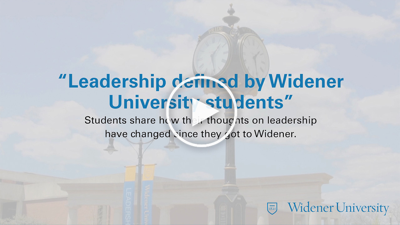 Widener University Video Thumbnail